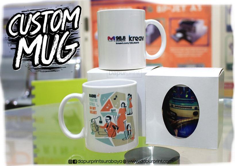 Hanya Disini …! Bikin Mug Custom Cantik Dan Murah