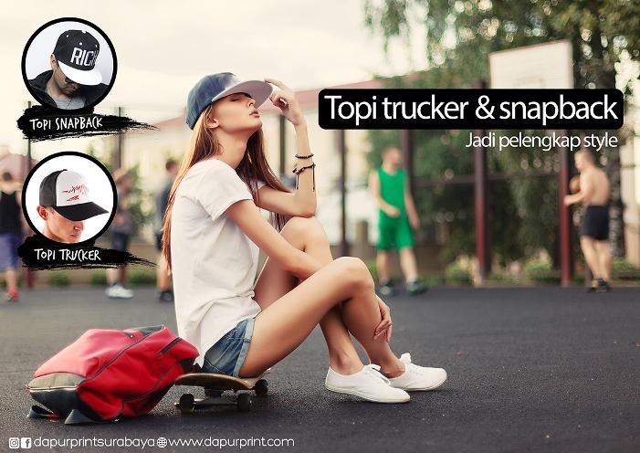 Topi Trucker dan Snapback Jadi Pelengkap Style Masa Kini