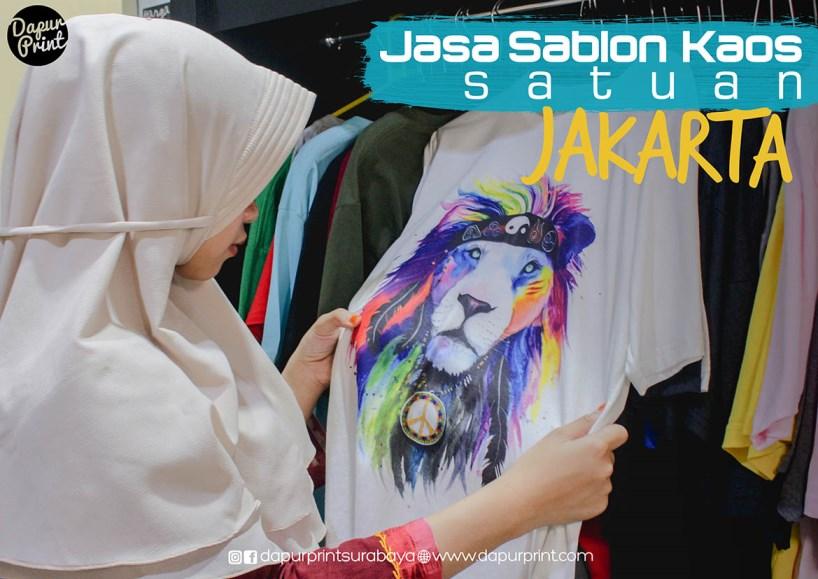 Jasa Sablon Kaos Premium Cepat Di Area JABODETABEK