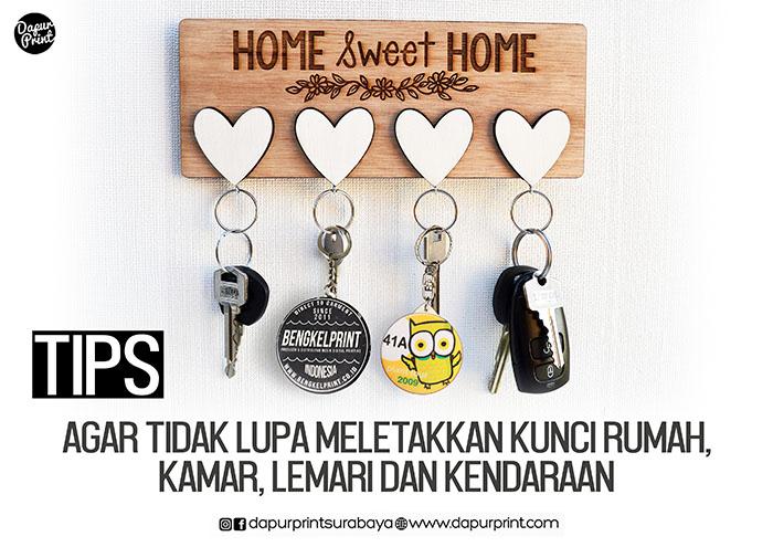 Tips Agar Tidak Lupa Meletakkan Kunci Rumah, kamar, lemari dan  Kendaraan