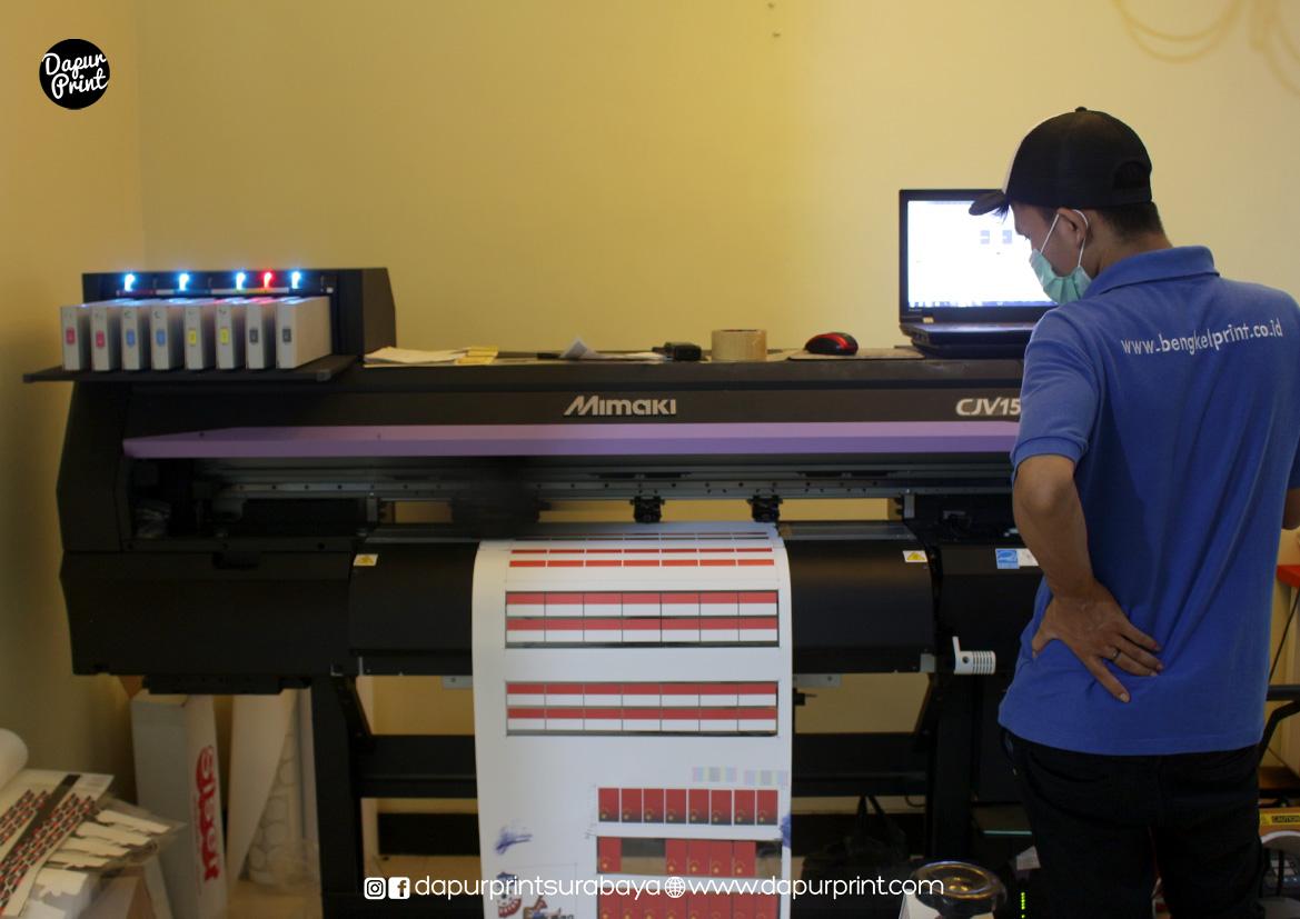 Jasa Sablon Print & Cut Printable Flex Surabaya