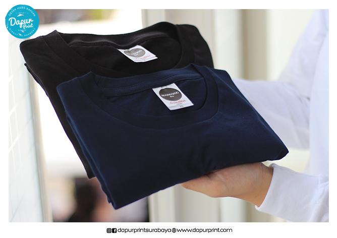 Distributor Kaos Polos Namako Tee Frameless Terbaru