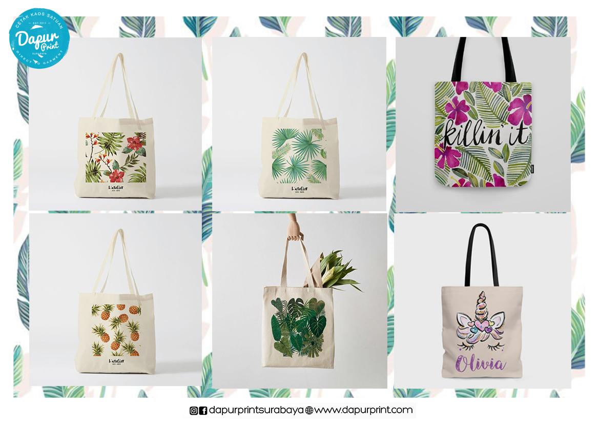 Jasa Cetak Tote Bag PrintableFlex