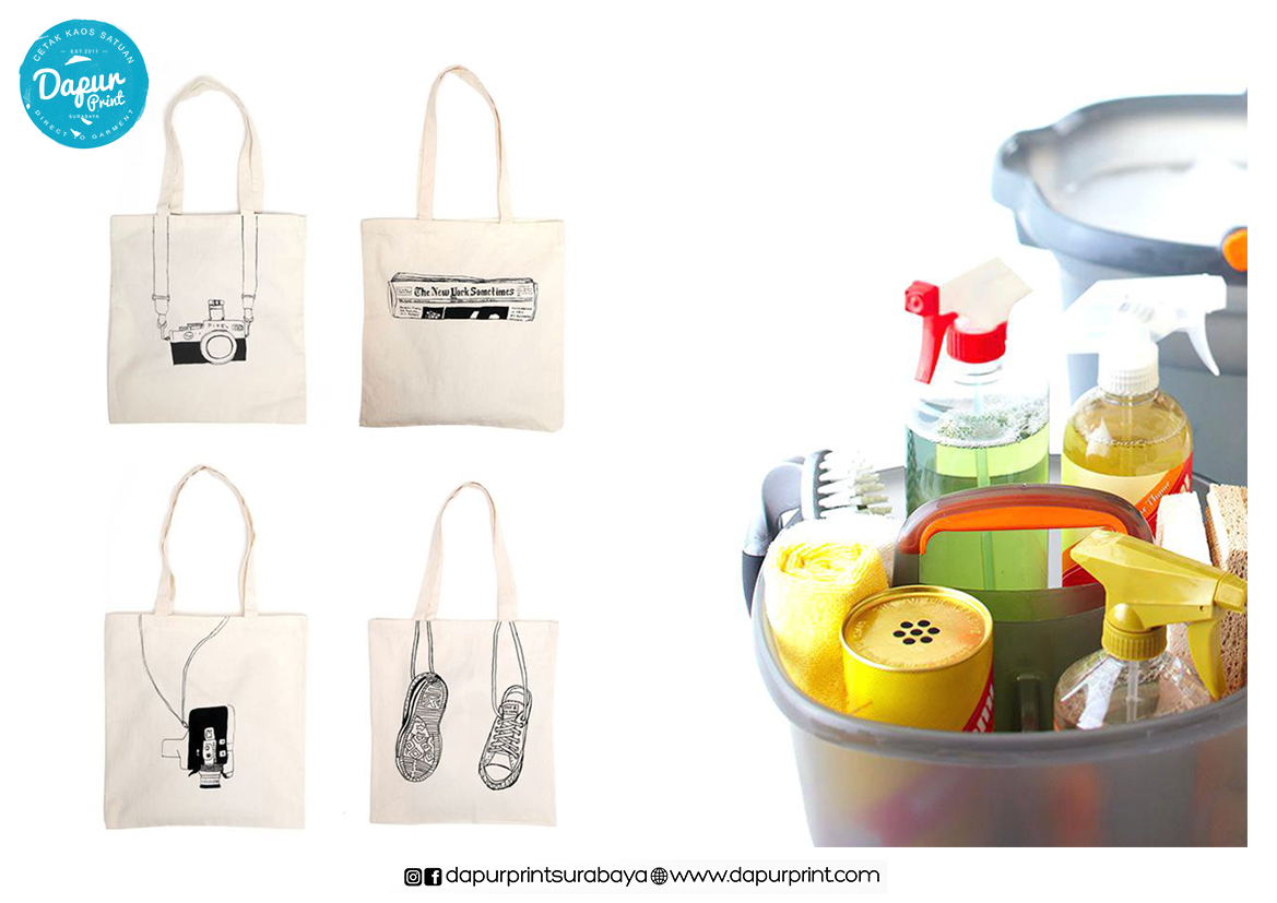 Tips Merawat Printing Tote Bag Dengan Benar