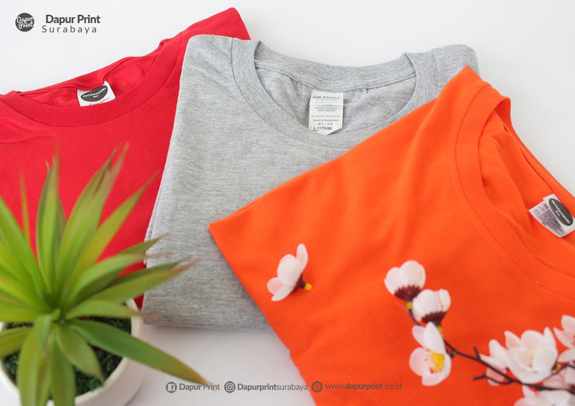 3 Brand Kaos Polos Import Laris Di Indonesia