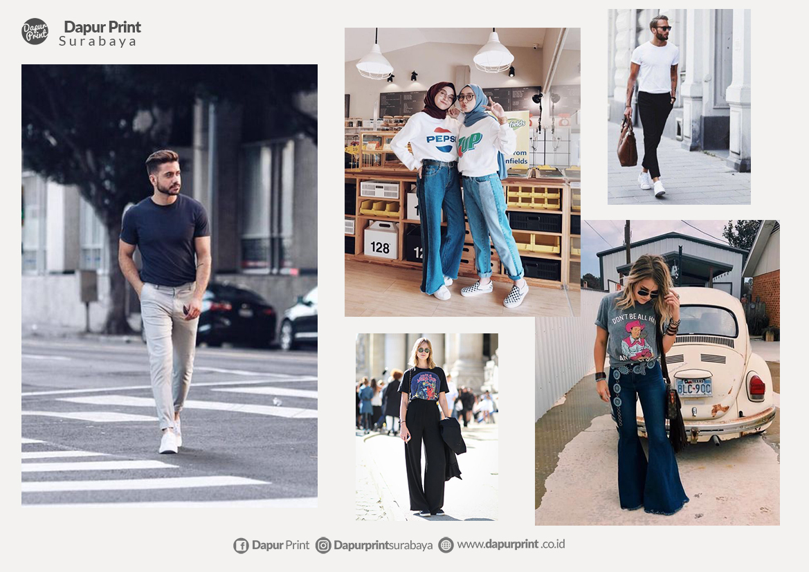 Simple Dan Nyentrik, Ini Gaya Kaos Anak Kekinian 2019