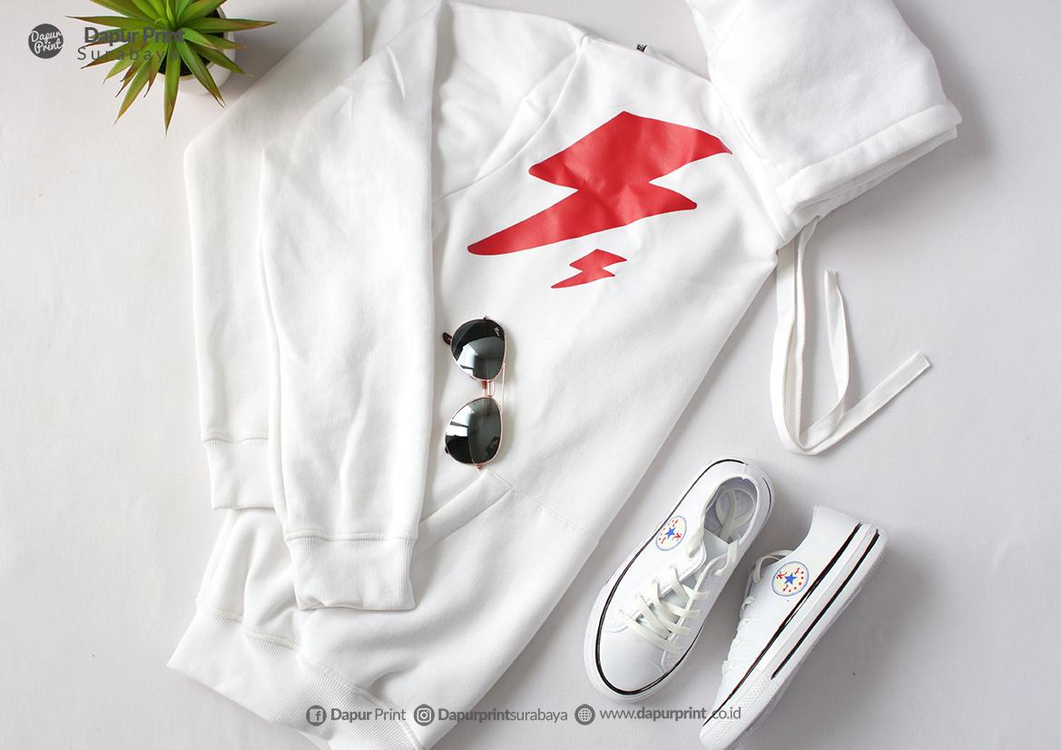 Printing Hoodie Custom Cepat Surabaya