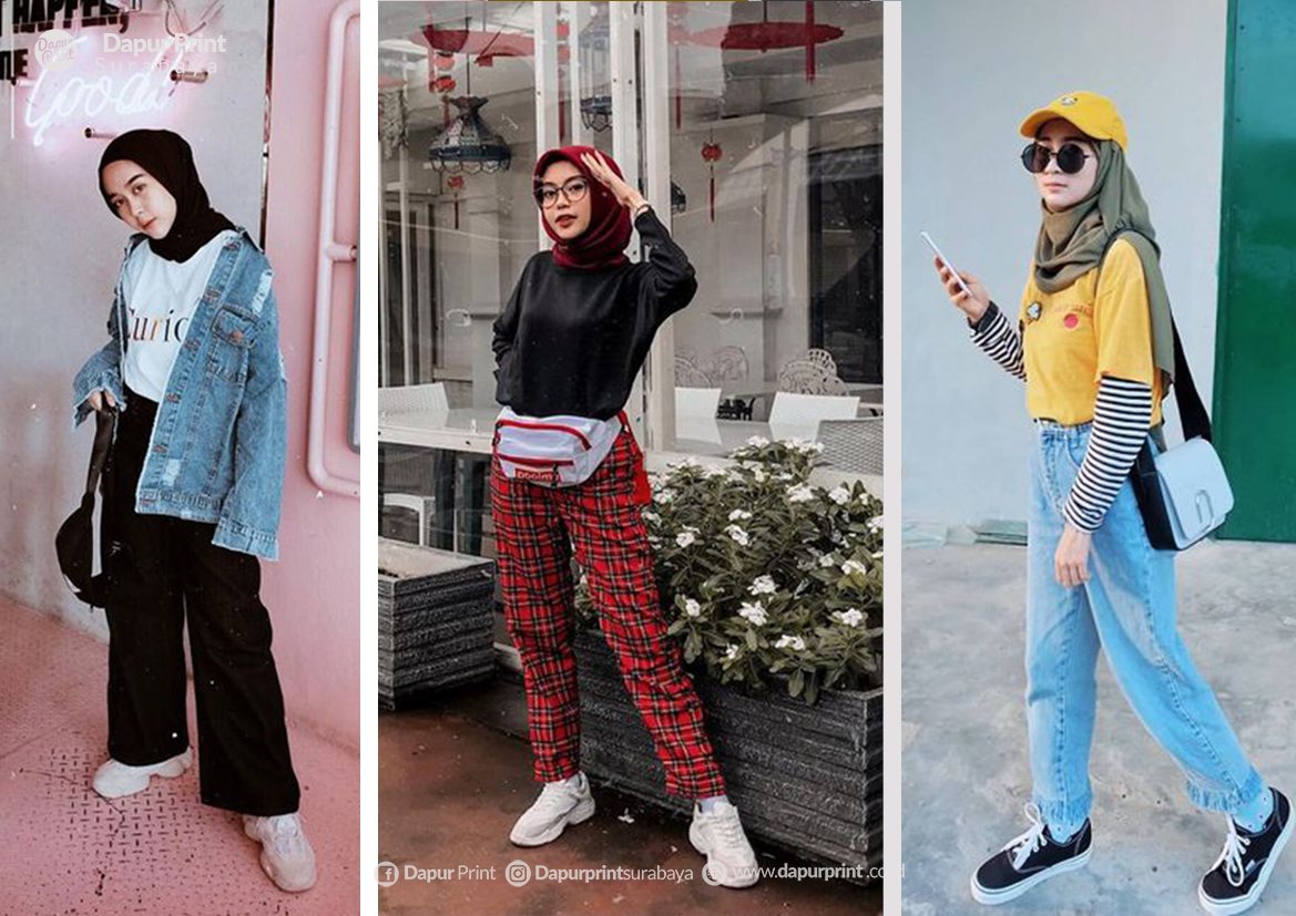 4 Gaya Ke Kampus Modis Ala Fashion Influencer 2019
