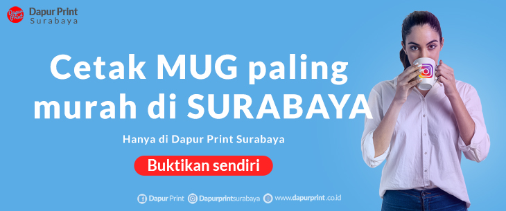 Cetak MUG Keramik Murah SURABAYA