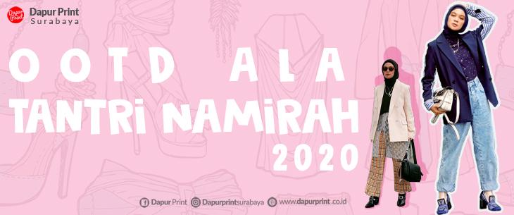 Gaya Tabrak Warna Tantri Namirah Inspirasi OOTD 2020