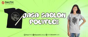 sablon polyflex murah