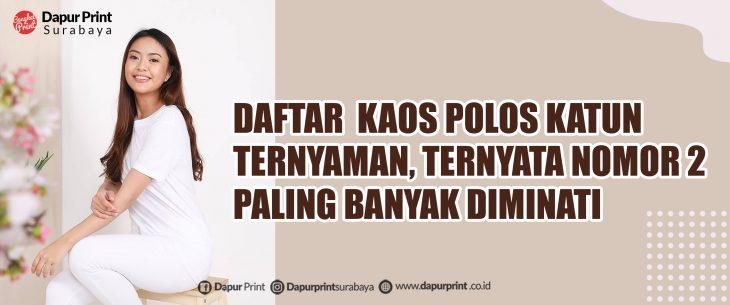 Sablon Kaos Satuan Surabaya