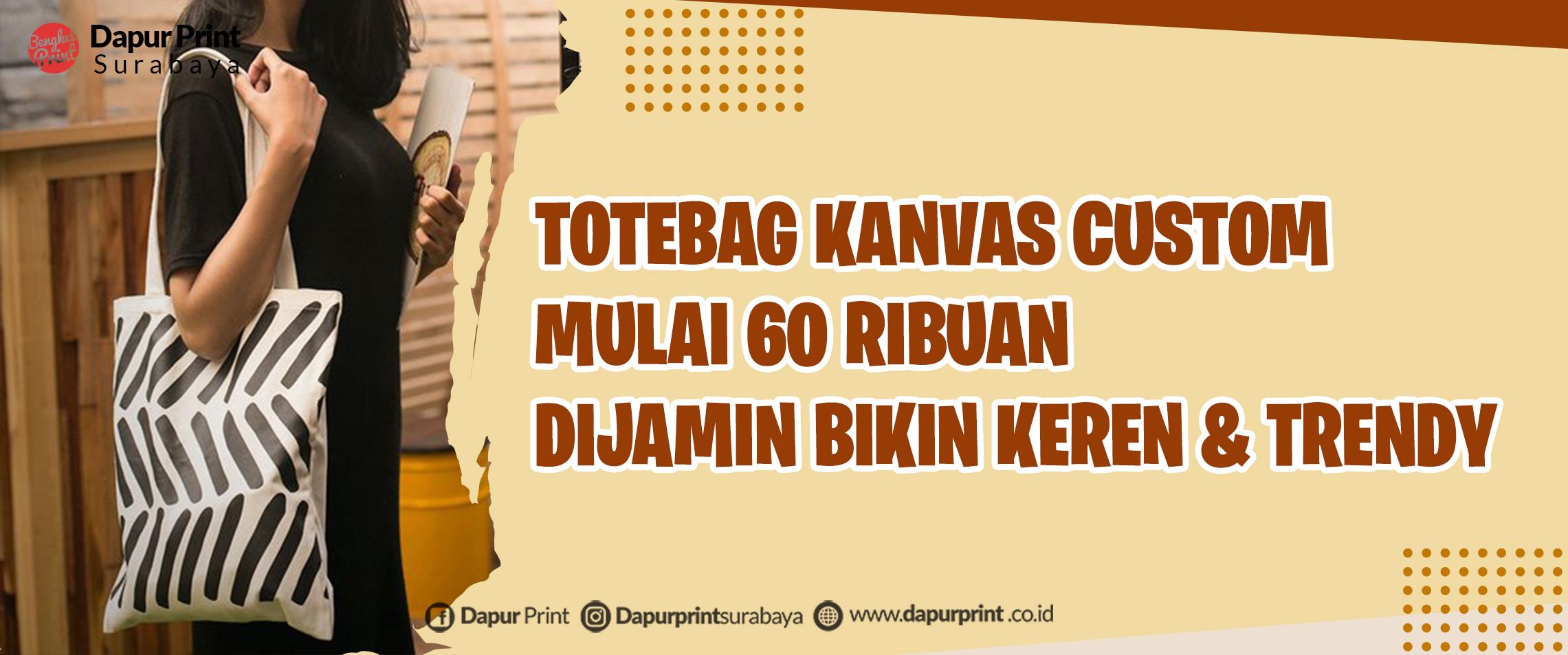Cetak Totebag Custom Online Termurah Di 2021