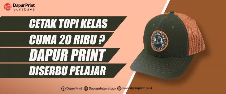 Topi Custom Murah Surabaya