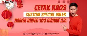 Custom Kaos Imlek Murah Surabaya