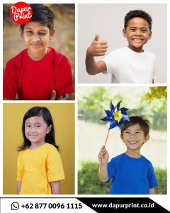 harga kaos berkualitas untuk anak