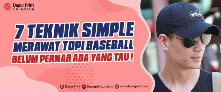 Cara Mencuci Topi Baseball
